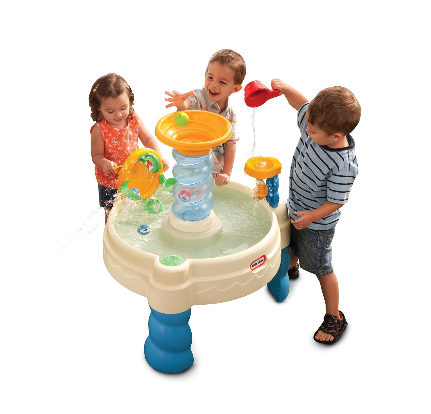 Little Tikes Spiralinu0027 Seas Waterpark Play Table   $28.29