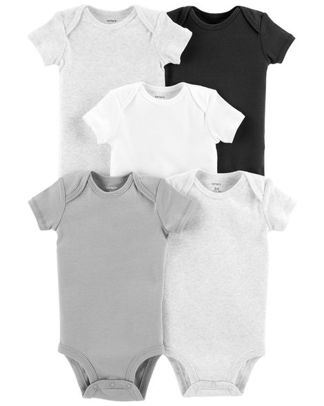 5-Pack Short-Sleeve Original Bodysuits - $7.80