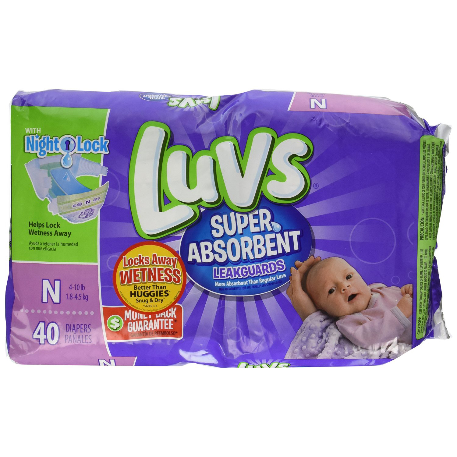 Luvs Super Absorbent Leakguards - $16.02