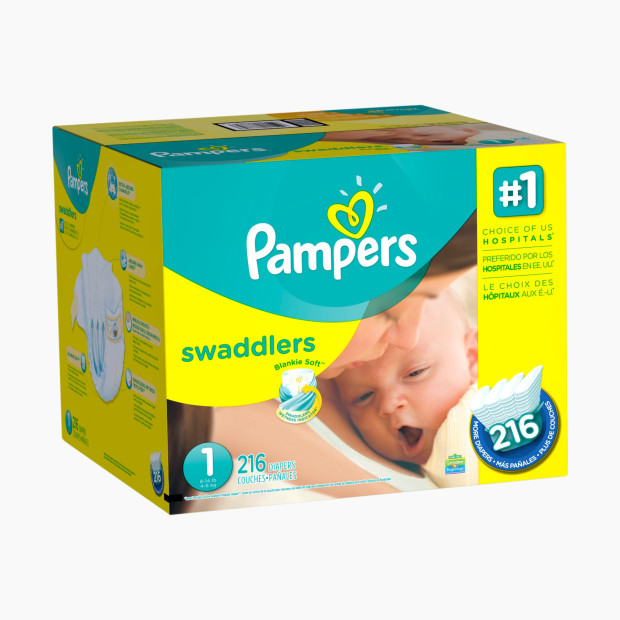 Pampers Swaddlers Diapers - $35.39