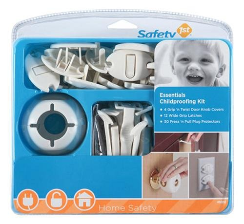 Safety 1st Essentials Child Proofing Kit- 46 Piece - $18.15