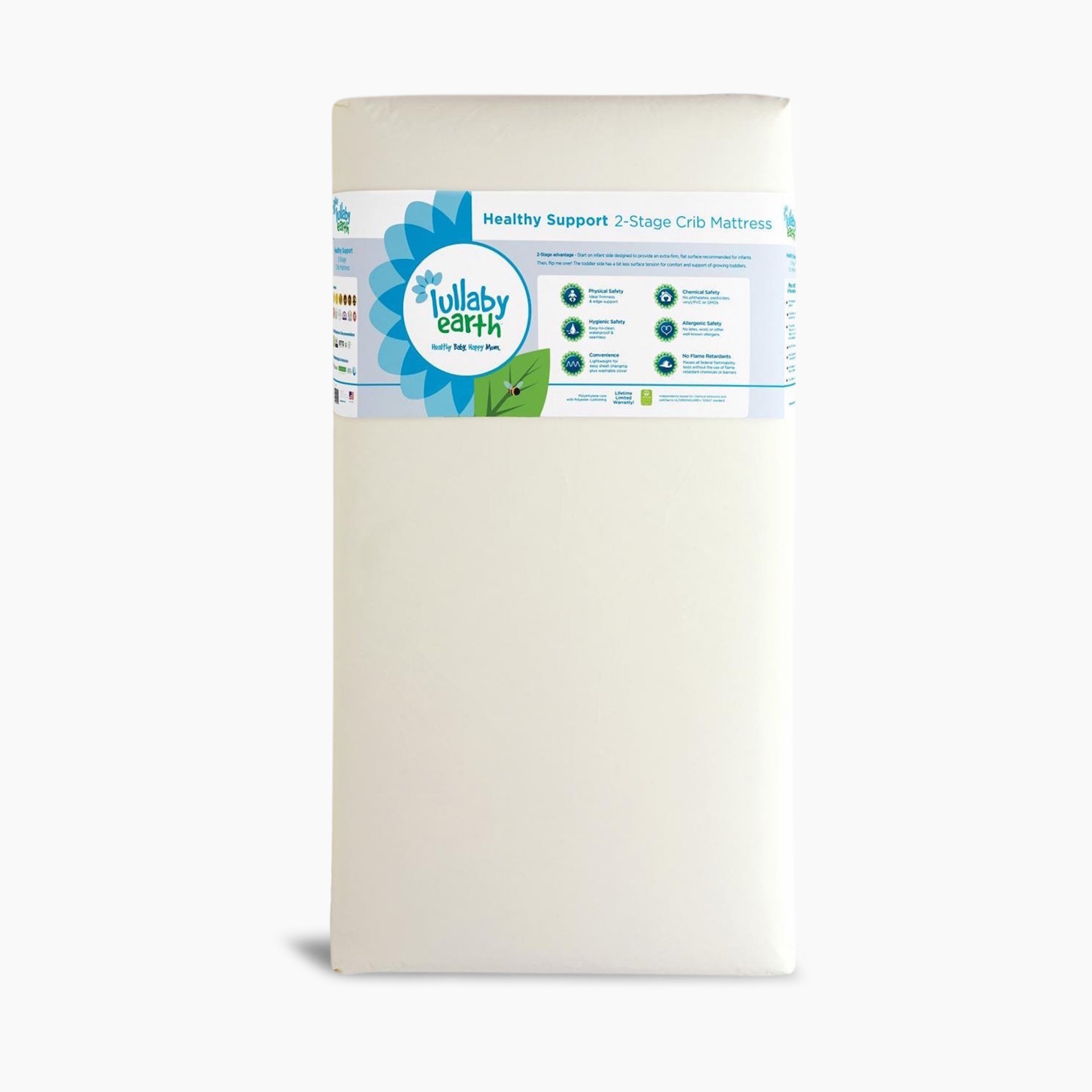 detailed look 4ede4 0cbb3 Lullaby Earth 2-Stage Super Lightweight Crib Mattress