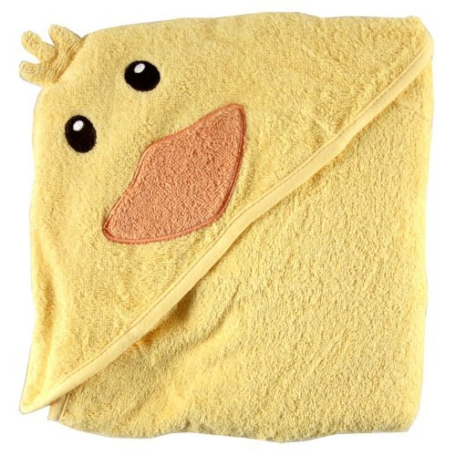 Luvable Friends Animal Face Hooded Woven Terry Baby Towel - $12.99