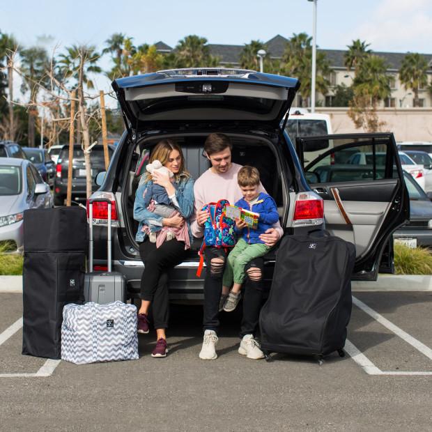 Jl Childress Deluxe Spinner Wheelie Car, Jl Childress Spinner Wheelie Deluxe Car Seat Travel Bag