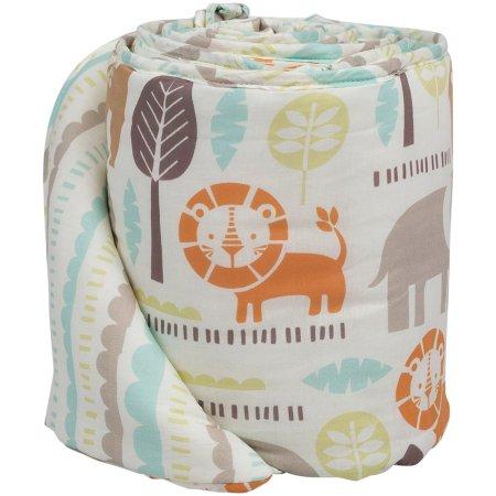 Poppi Living Safari Premium Cotton Crib Bumper - $32.97