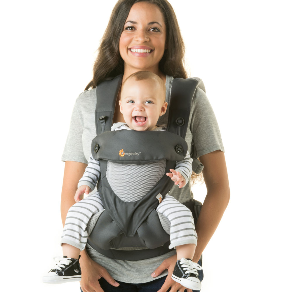 Ergobaby Four Position 360 Cool Air Carrier - Carbon Grey - $180.00
