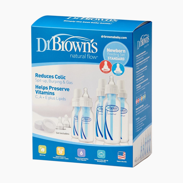 Dr Brown S Natural Flow Baby Bottle Gift Set