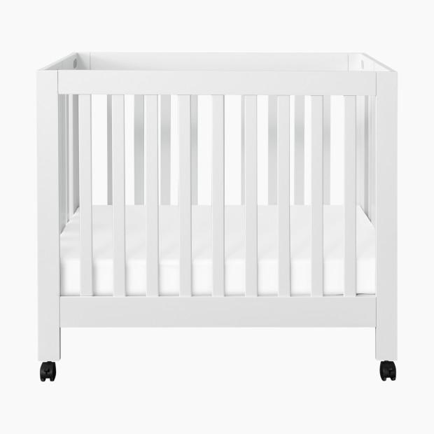 Babyletto Origami Mini Crib in Grey Finish - Cribs & Accessories ... | 620x620