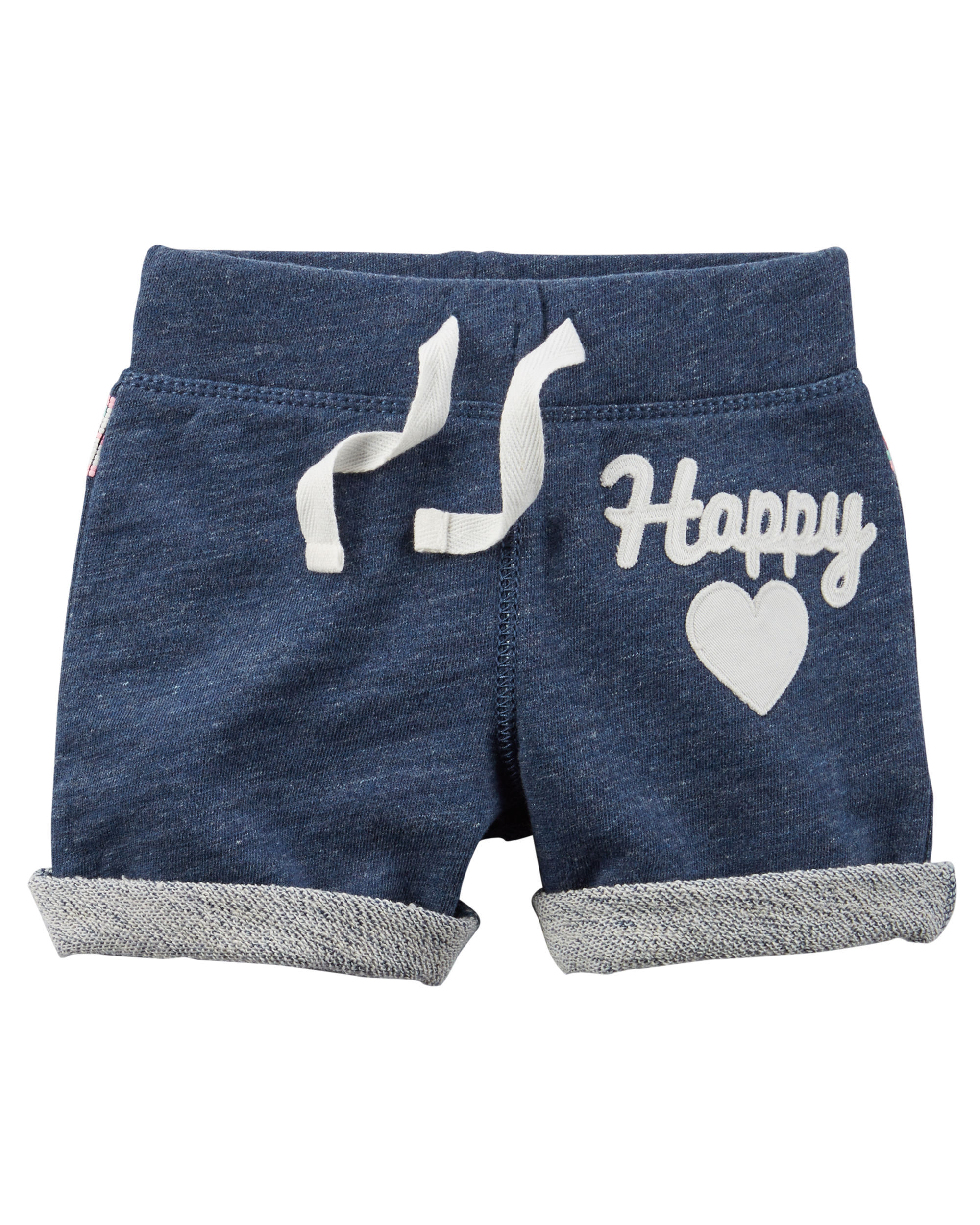 French Terry Shorts (Happy) - $8.00