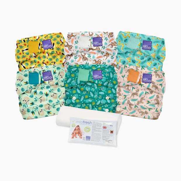 Бамбино Мио Миосоло Все-В-Одном Многоразовые Ткань Пеленки Комплект (6 Шт) - $119.89