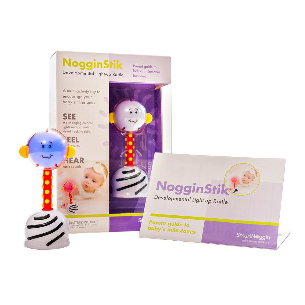 Smart Noggin NogginStik Developmental Rattle - $23.00