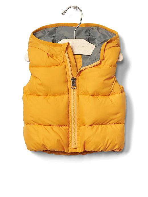 Warmest Quilted Hoodie Vest - $39.95