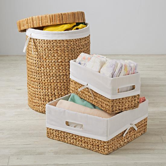 Wonderful Wicker Natural Nursery Collection - $30-79