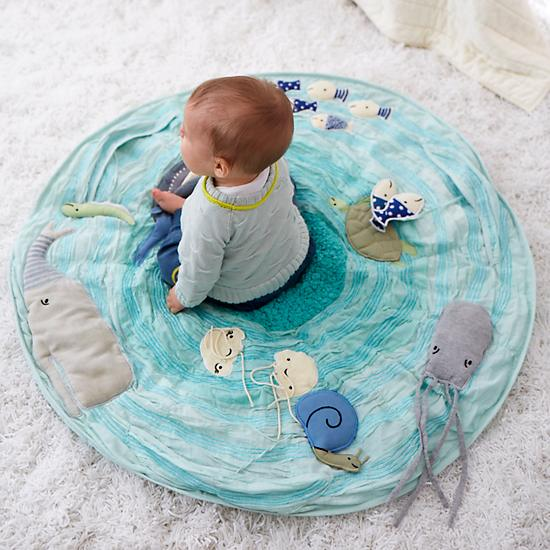 Be on the Sea Activity Mat by Land of Nod - $119.00