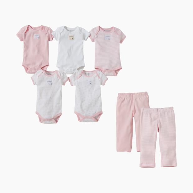 7600ad55f Burt's Bees Baby Organic Short Sleeve Bodysuit & Pant Set - Babylist ...