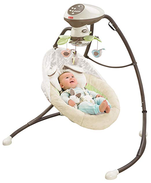 Fisher-Price Snugabunny Cradle 'n Swing - $119.00
