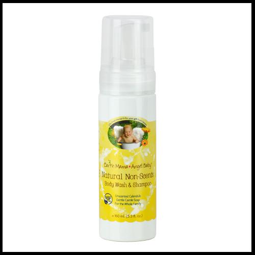 Earth Mama Angel Baby Non Scents Shampoo & Body Wash - $9.99