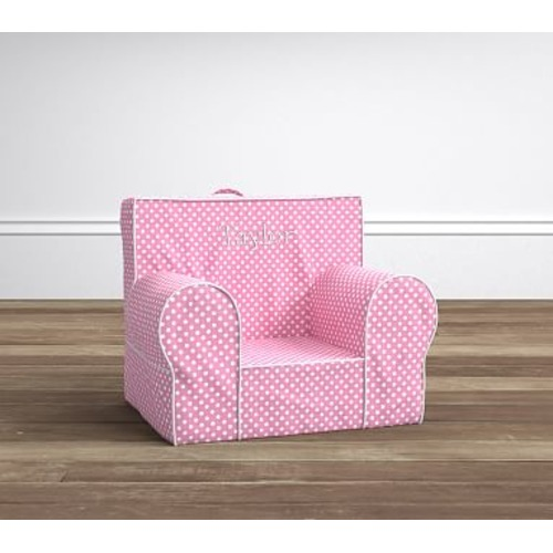 Light Pink Mini Dot My First Anywhere Chair - $99.00