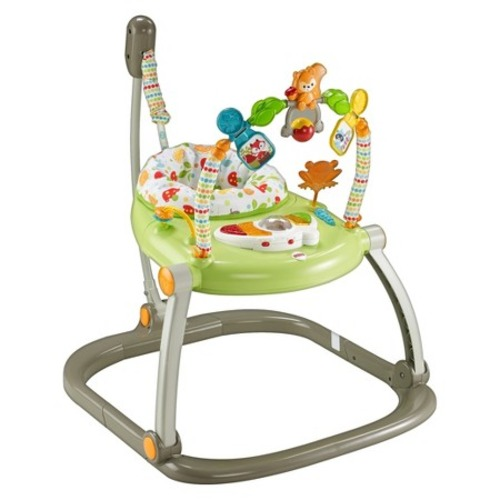 Fisher-Price Entertainer SpaceSaver Jumperoo Woodland Friends - $63.99