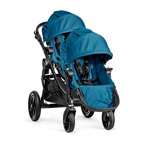 Baby Jogger City Select Single Black Frame Stroller with Second Seat - Teal - $559.95