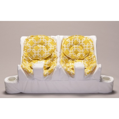 The Table for Two Twin Feeding System - Gotcha, Bright Yellow - $269.99