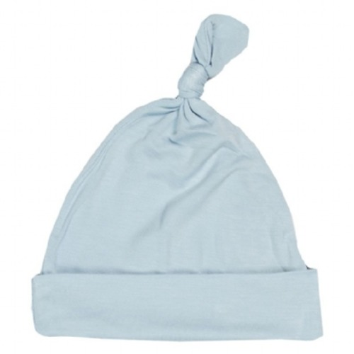 Basic Knot Hat in Pond - $9.00