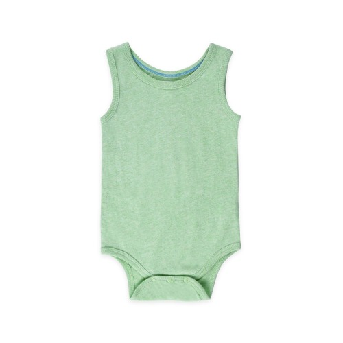 Organic Baby Boy Boulder Tank Bodysuit | Colored Organics - $10.00