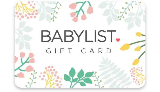 Babylist Gift Card - $0.00