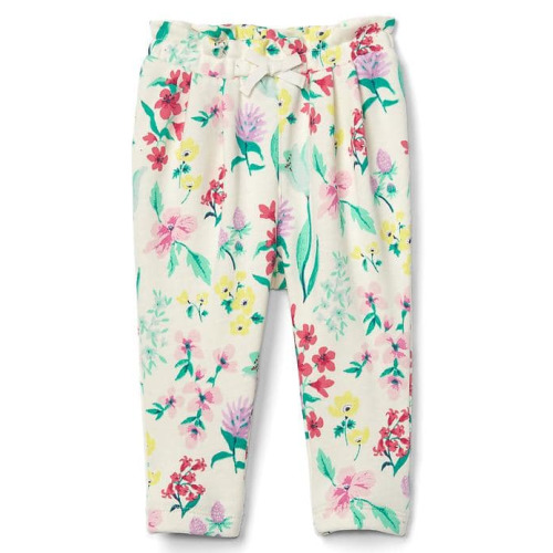 Floral Terry Pants - $19.95