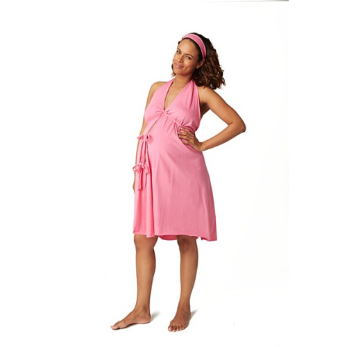 Labor Gown Pink - Pregnancy Treasures & Boutique - $42.00