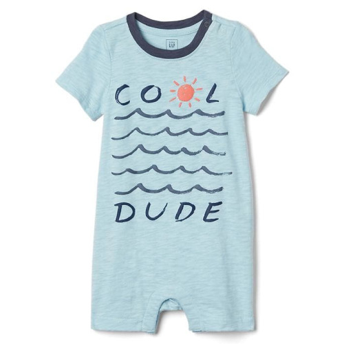 Cool Dude Shorty One-Piece - $24.95