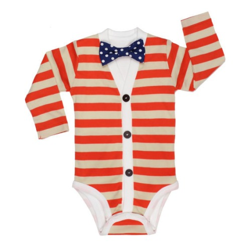 Baby Cardigan and Bow Tie Set  - $29.00