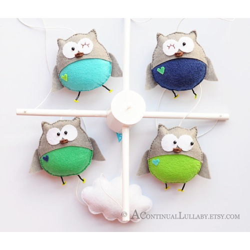 Owl Mobile - $95.00