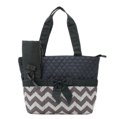 Personalized Dark Grey Chevron Zig Zag - $38.95