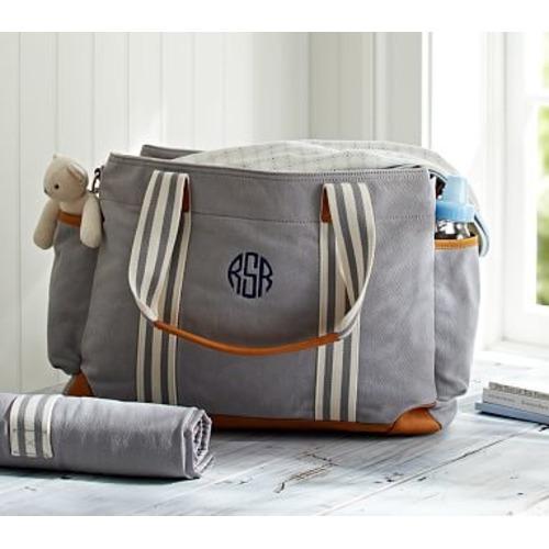 Gray Classic Diaper Bag - $149.00