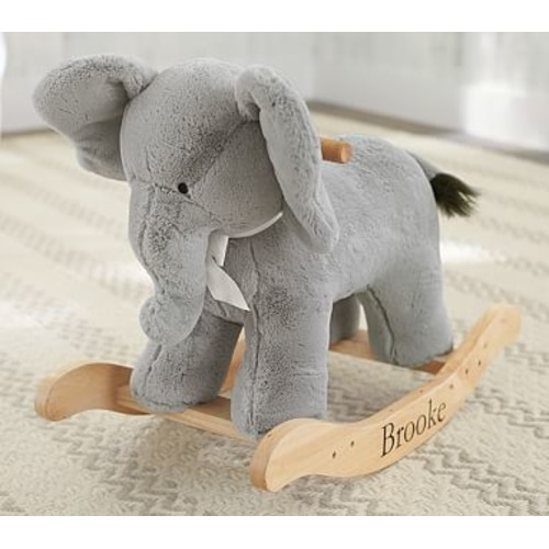 Elephant Plush Rocker - $149.00