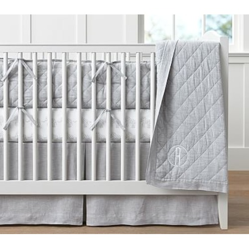 Belgian Linen Nursery Bedding - $19 – $119