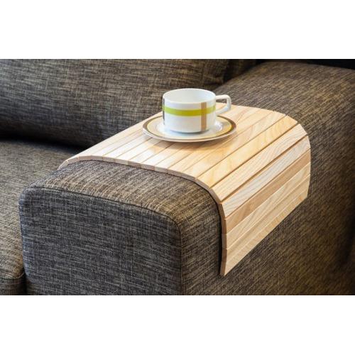 Sofa Tray Table  Wood Coffee Table - $81.00