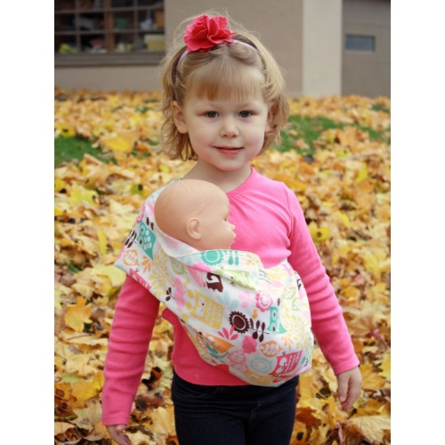 Doll Carrier Toy Pouch Sling Baby Doll Sling  by SnuggyBaby - $14.00