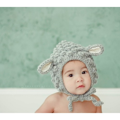 Little Lamb Wool by sweetpeatoadtots on Etsy - $50.00