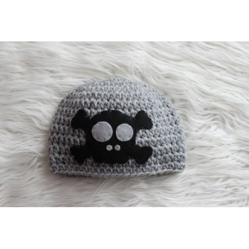 Skull and Crossbones Beanie - $26.00