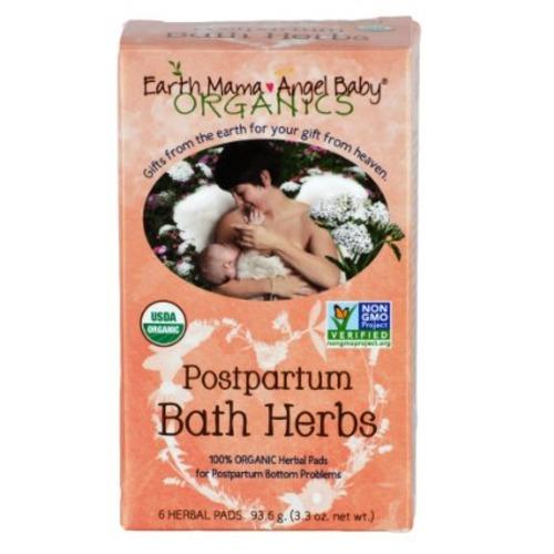 Postpartum Bath Herbs organic Non GMO herbal sitz bath healing pads 6 ct - $3.95