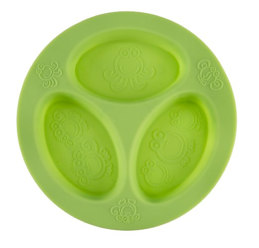 oogaa Silicone Baby and Toddler Divided Plate - $11.19