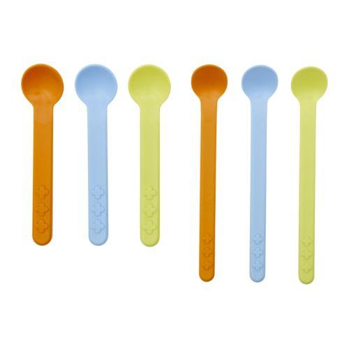 Smaska - 6-piece Feeding and Spoon Set - $2.99