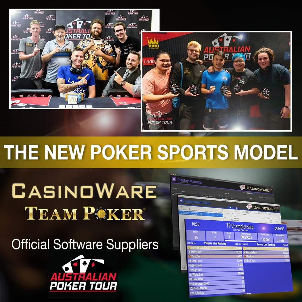 THE NEW POKER SPORTS MODEL CWTP