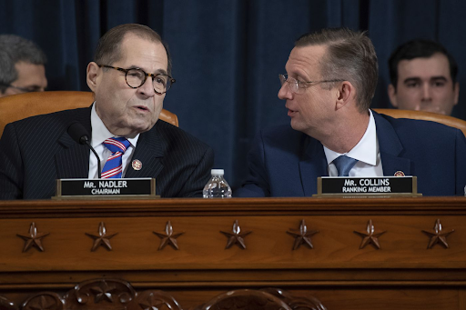 House Judiciary Chair Nadler (D-NY) and ranking member Collins (R-GA)
