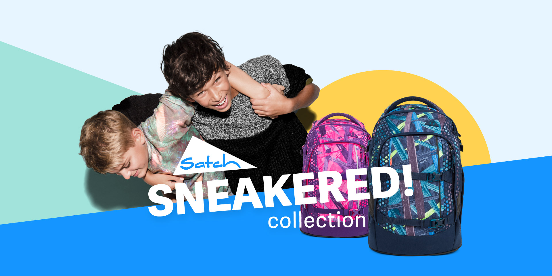 satch hero sneakered collection