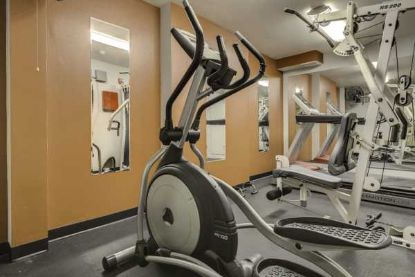 Gym at Excalibur apartments