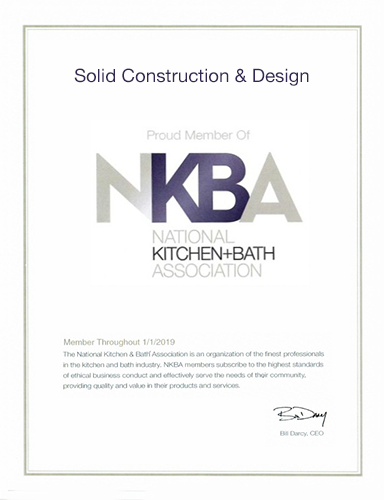 Member of The National Kitchen & Bath Association