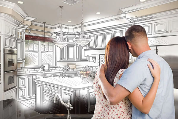 Free 3D Kitchen Design in Sacramento